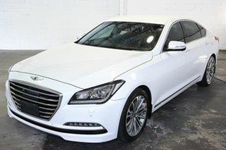 2015 Hyundai Genesis DH Sensory Pack White 8 Speed Sports Automatic Sedan.