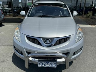2012 Great Wall X200 CC6461KY MY11 (4x4) Silver 6 Speed Manual Wagon.
