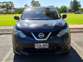 2015 Nissan Qashqai J11 ST Black 1 Speed Constant Variable Wagon.