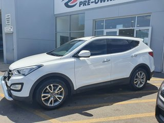 2013 Hyundai Santa Fe DM MY13 Elite White 6 Speed Sports Automatic Wagon