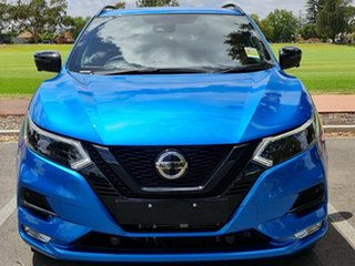 2020 Nissan Qashqai J11 Series 3 MY20 Midnight Edition X-tronic Vivid Blue 1 Speed Constant Variable.