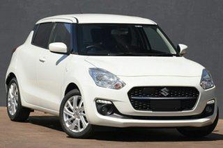 2020 Suzuki Swift AZ Series II GL Navigator Pure White Pearl 1 Speed Constant Variable Hatchback.