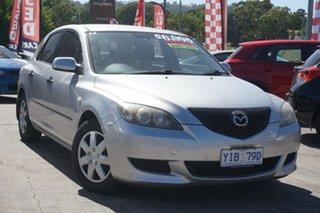 2005 Mazda 3 BK10F1 Neo Silver 5 Speed Manual Hatchback.