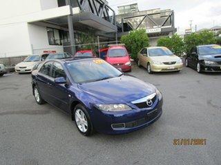 2006 Mazda 6 GG 05 Upgrade Classic Blue 5 Speed Auto Activematic Sedan.