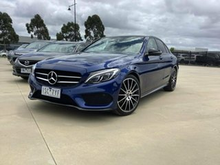 2017 Mercedes-Benz C-Class W205 C200 Blue Sports Automatic Sedan.