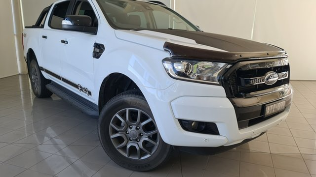 Used Ford Ranger PX MkII 2018.00MY FX4 Double Cab Deer Park, 2018 Ford Ranger PX MkII 2018.00MY FX4 Double Cab White 6 Speed Sports Automatic Utility