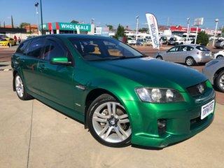 2010 Holden Commodore VE MY10 SV6 Sportwagon Green 6 Speed Sports Automatic Wagon.