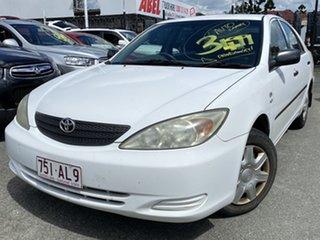 2002 Toyota Camry Altise Alaska White Automatic Sedan.