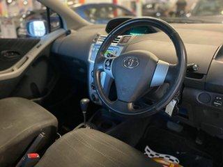 2007 Toyota Yaris NCP90R YR Black 4 Speed Automatic Hatchback