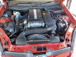 2005 Mercedes-Benz SLK-Class R171 MY06 SLK200 Kompressor Red 5 Speed Automatic Roadster