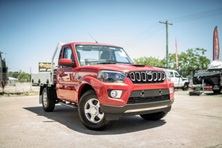 2020 Mahindra Pik-Up MY20 2WD S6+ Red Rage 6 Speed Manual Cab Chassis.