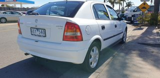 2001 Holden Astra TS CD White 4 Speed Automatic Hatchback