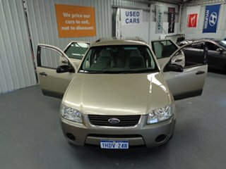 2006 Ford Territory SY TS AWD Gold 6 Speed Sports Automatic Wagon