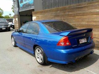 2004 Holden Commodore VZ SV6 Blue 6 Speed Manual Sedan