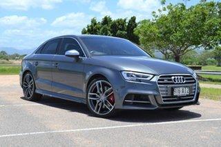 2016 Audi S3 8V MY17 S Tronic Quattro Grey 7 Speed Sports Automatic Dual Clutch Sedan.