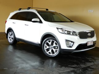 2016 Kia Sorento UM MY16 Platinum (4x4) White 6 Speed Automatic Wagon