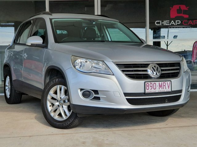 Used Volkswagen Tiguan 5N MY09 125TSI 4MOTION Brendale, 2009 Volkswagen Tiguan 5N MY09 125TSI 4MOTION Silver 6 Speed Sports Automatic Wagon