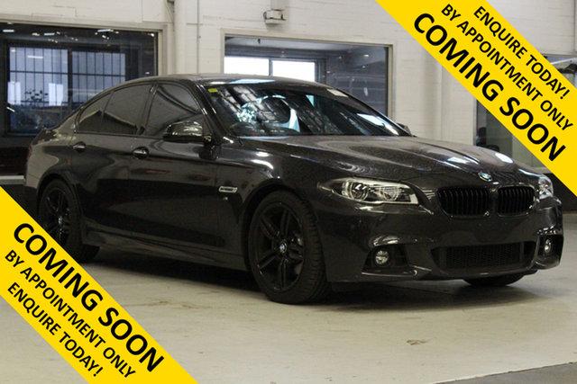 Used BMW 528i F10 MY14 Luxury Line Bentley, 2014 BMW 528i F10 MY14 Luxury Line Grey 8 Speed Automatic Sedan