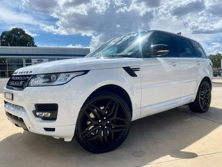 2015 Land Rover Range Rover Sport SDV8 - HSE White Sports Automatic Wagon