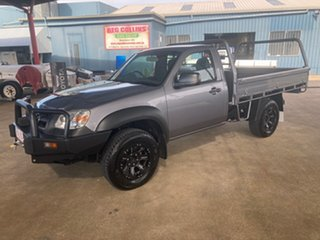 2009 Mazda BT-50 08 Upgrade B3000 DX (4x4) Grey 5 Speed Manual Cab Chassis
