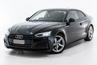 2017 Audi A5 F5 MY17 Sport S Tronic Quattro Black 7 Speed Sports Automatic Dual Clutch Coupe.