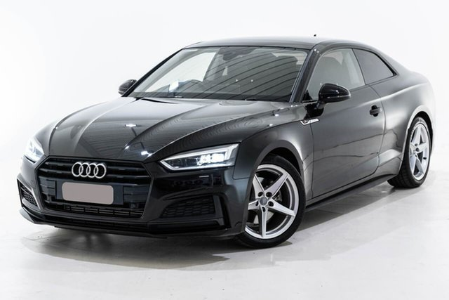 Used Audi A5 F5 MY17 Sport S Tronic Quattro Berwick, 2017 Audi A5 F5 MY17 Sport S Tronic Quattro Black 7 Speed Sports Automatic Dual Clutch Coupe