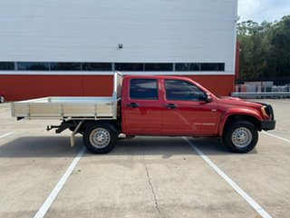2009 Holden Colorado RC MY09 LX (4x4) Red 5 Speed Manual Crew Cab Pickup.