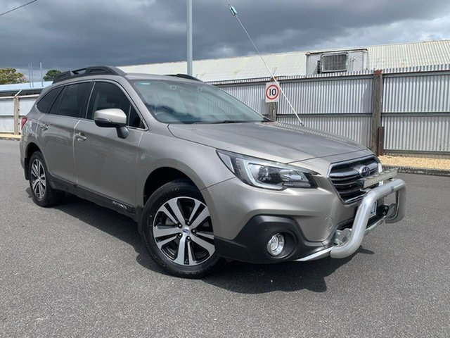 Used Subaru Outback B6A MY19 2.5i CVT AWD Moonah, 2019 Subaru Outback B6A MY19 2.5i CVT AWD Gold 7 Speed Constant Variable Wagon