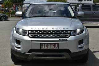 2013 Land Rover Range Rover Evoque LV MY13 SI4 Pure Silver 6 Speed Automatic Wagon.