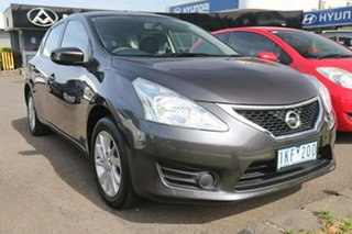 2015 Nissan Pulsar C12 Series 2 ST Grey 1 Speed Constant Variable Hatchback.