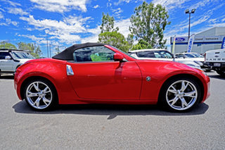 2010 Nissan 370Z Z34 Red 7 Speed Sports Automatic Roadster