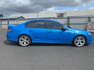 2008 Ford Falcon FG XR6 Turbo Blue 6 Speed Manual Sedan.