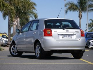 2003 Toyota Corolla ZZE122R Conquest Silver Automatic Hatchback