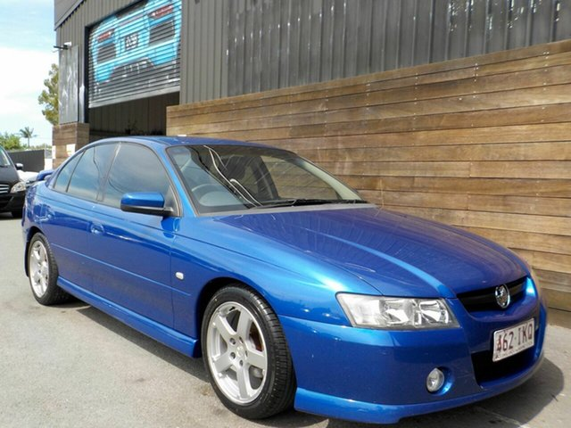 Used Holden Commodore VZ SV6 Labrador, 2004 Holden Commodore VZ SV6 Blue 6 Speed Manual Sedan