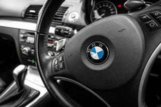 2009 BMW 125i E82 125i White 6 Speed Automatic Coupe
