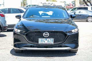 2020 Mazda 3 BP2H7A G20 SKYACTIV-Drive Pure Black 6 Speed Sports Automatic Hatchback