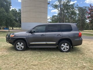 2012 Toyota Landcruiser VDJ200R MY10 Sahara Grey 6 Speed Sports Automatic Wagon