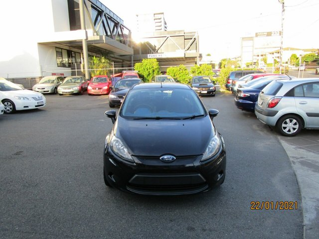 Used Ford Fiesta WS CL Coorparoo, 2009 Ford Fiesta WS CL Black 5 Speed Manual Hatchback