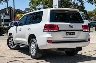 2015 Toyota Landcruiser VDJ200R VX White 6 Speed Sports Automatic Wagon.