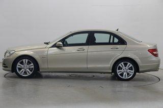 2011 Mercedes-Benz C-Class W204 MY11 C200 BlueEFFICIENCY 7G-Tronic + Champagne 7 Speed.