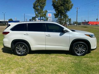 2017 Toyota Kluger GSU55R GXL AWD Pearl White 8 Speed Sports Automatic Wagon