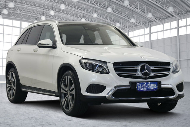 Used Mercedes-Benz GLC-Class X253 GLC250 d 9G-Tronic 4MATIC Victoria Park, 2016 Mercedes-Benz GLC-Class X253 GLC250 d 9G-Tronic 4MATIC White 9 Speed Sports Automatic Wagon