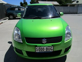2010 Suzuki Swift EZ 07 Update Green 4 Speed Automatic Hatchback