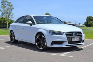 2014 Audi A3 8V MY15 Attraction S Tronic White 7 Speed Sports Automatic Dual Clutch Sedan.