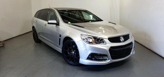 Used Holden Commodore VF MY14 SS V Sportwagon Elizabeth, 2014 Holden Commodore VF MY14 SS V Sportwagon Silver 6 Speed Sports Automatic Wagon
