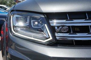 2018 Volkswagen Amarok 2H MY18 TDI550 4MOTION Perm Highline Grey 8 Speed Automatic Utility