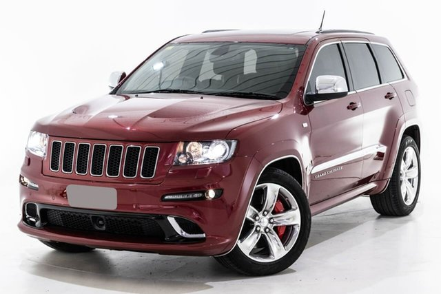 Used Jeep Grand Cherokee WK MY2013 SRT-8 Berwick, 2012 Jeep Grand Cherokee WK MY2013 SRT-8 Red 5 Speed Sports Automatic Wagon
