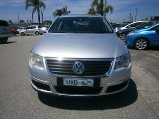 2007 Volkswagen Passat Type 3C MY07 TDI DSG Silver 6 Speed Sports Automatic Dual Clutch Wagon.