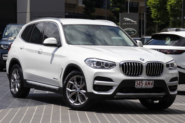 Used BMW X3 G01 xDrive20d Steptronic Newstead, 2018 BMW X3 G01 xDrive20d Steptronic White 8 Speed Automatic Wagon