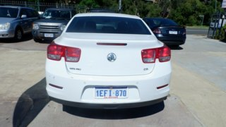 2013 Holden Malibu V300 MY13 CD White 6 Speed Sports Automatic Sedan
